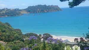 Utsikt från vårt hus på ön